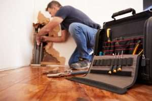 What does commercial water damage restoration entail
