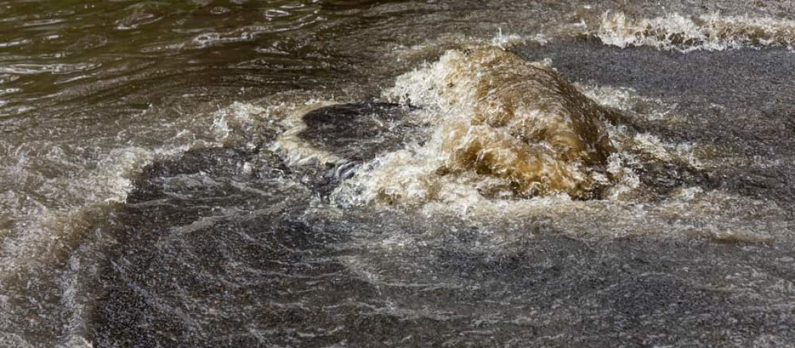 Is backed up sewage dangerous